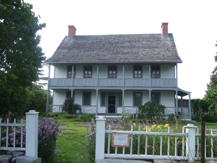 Fairfield House, c. 1793, Ontario