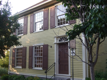 Although no single house was used as the basis for the Abbott home in the Caroline books, a number of period homes---like this one---provided inspiration.