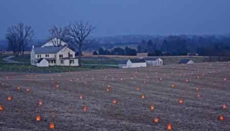 Antietam National Battlefield Memorial Illumination