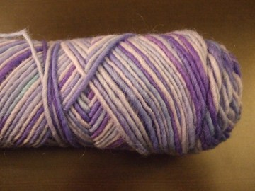 I love the colors in this skein.