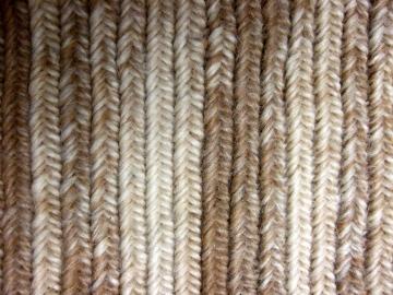 A luscious wool-mohair blend.
