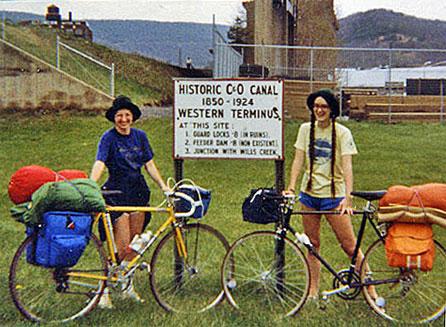 C&O Canal Bike Trip 1981