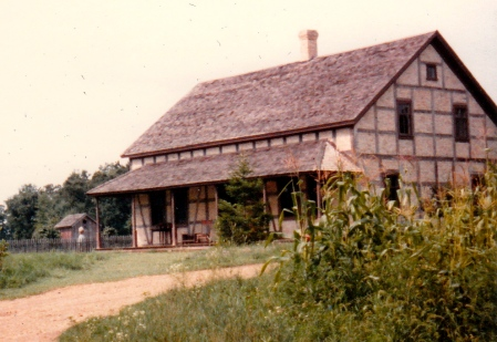 The Koepsell house, 1982.