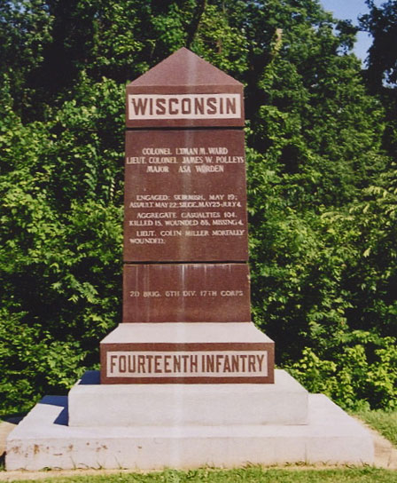 14th Wisconsin Monument