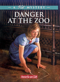 Danger at the Zoo Cover