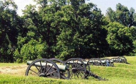 Vicksburg cannons