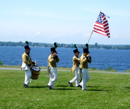 Sackets Harbor reenactment