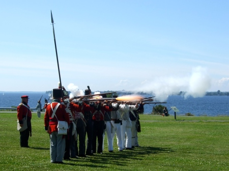 Sackets Harbor reenactment