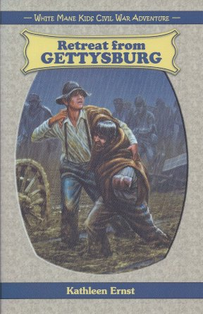 Retreat From Gettysburg CoverColor-Enhanced