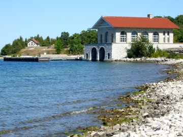 boathouse, Rock Island
