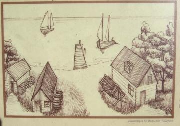 Fishing village sign