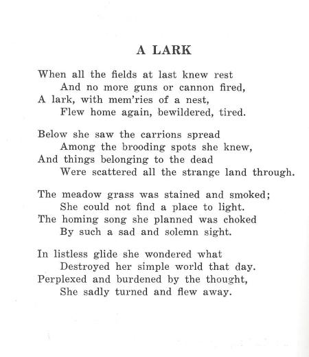 Antietam Poem
