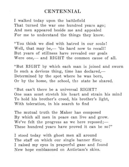 Antietam Poem 2