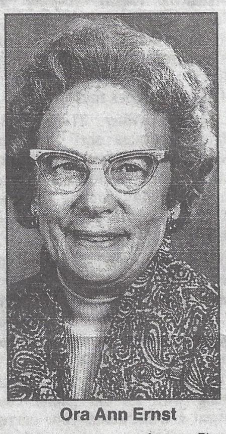 Ora Ann Ernst