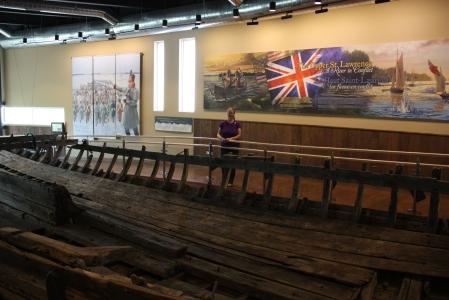 Fort Wellington Gunboat