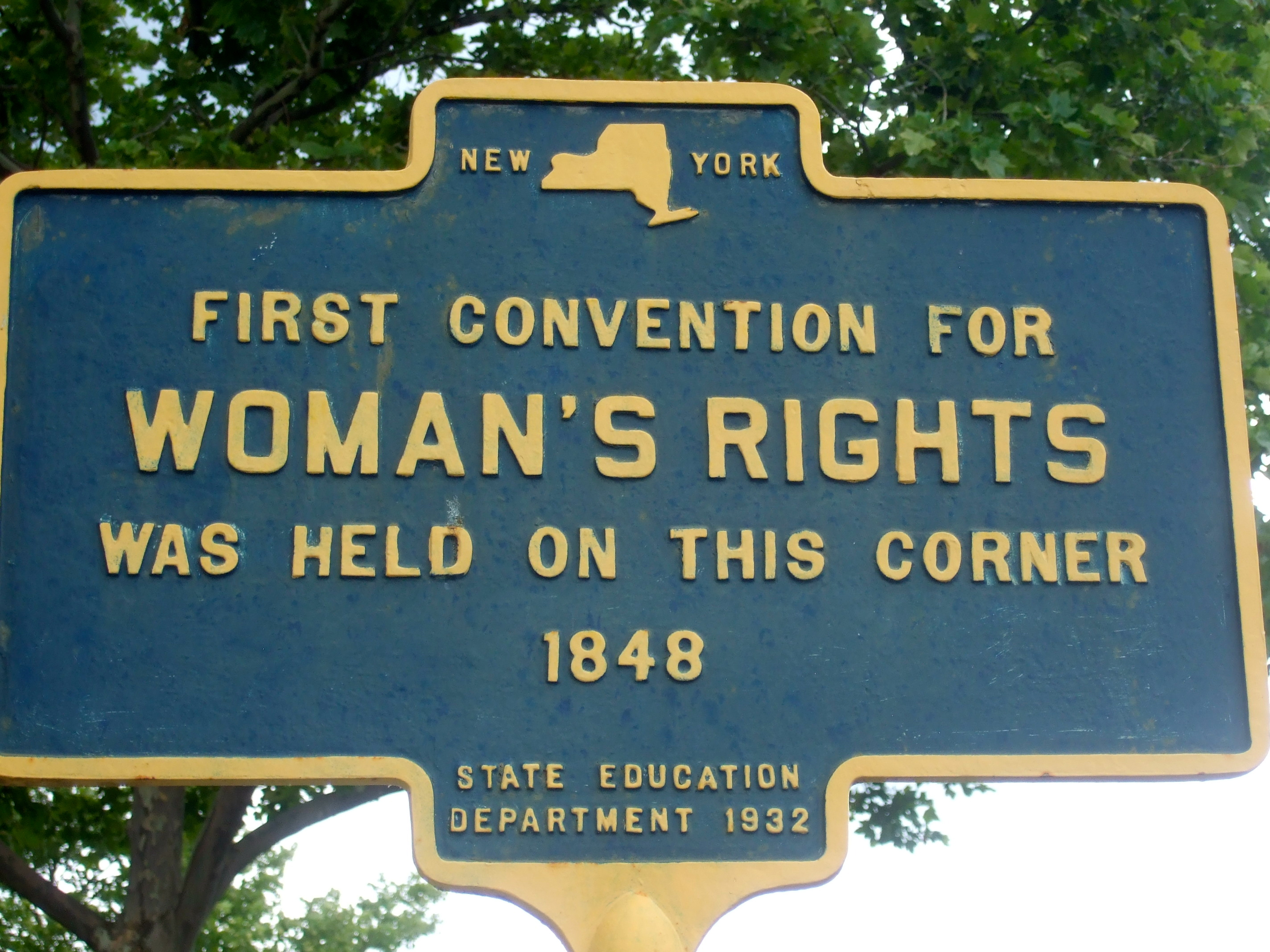 Image result for women's rights activists meet in seneca falls