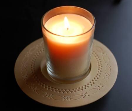 Ellen Mcdonald's candleplate