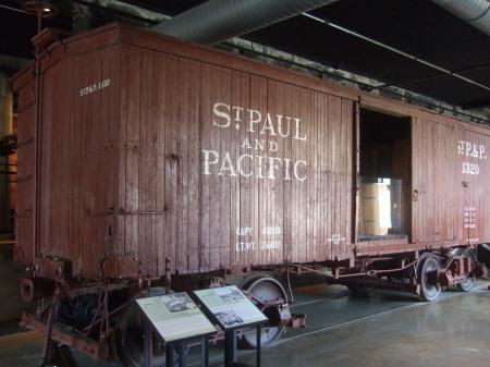 Mill City Museum Rail Corridor