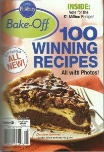 2014 Bake-Off cookbook