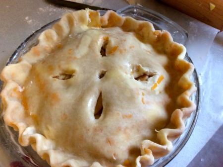 Cut Vent to Bake - Apple Pie