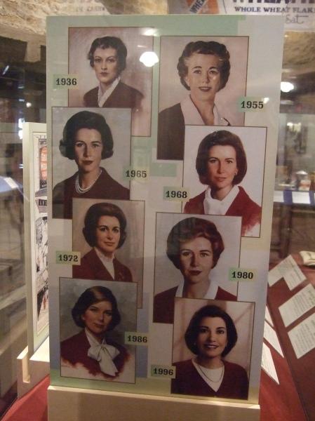 Betty Crocker exhibit