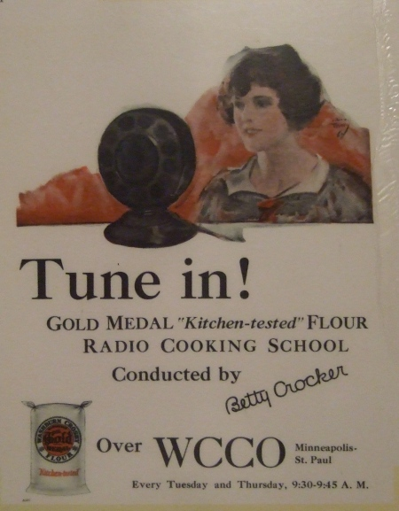 Radio program ad