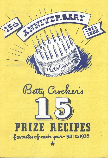 Betty Crocker's 15 Prize Recipes