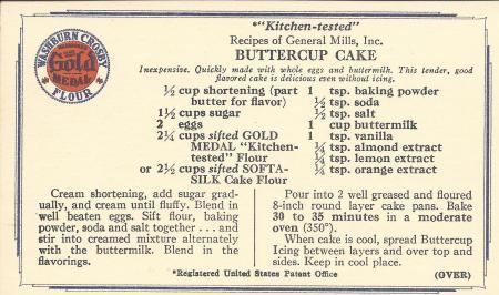 Buttercup Cake