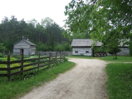 The climax scene in Old World Wisconsin takes place in the Kvaale farmyard.