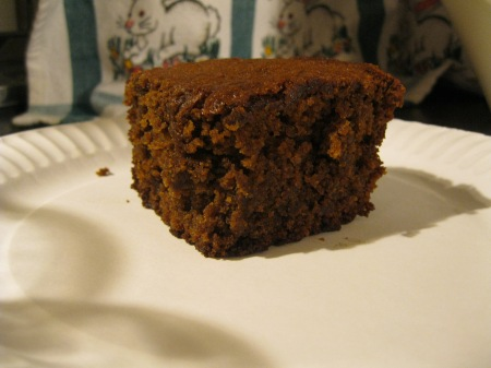 Molasses Cake 5