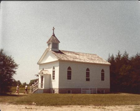 St. Peters Church, Old World Wisconsin, 1981