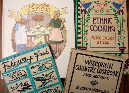 Vintage Wisconsin Cookbooks