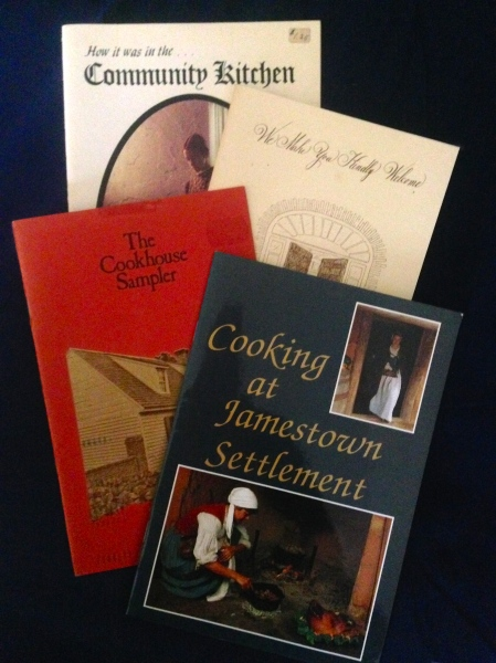 historic sites cookbooks