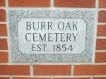 Burr Oak, IAcemetery