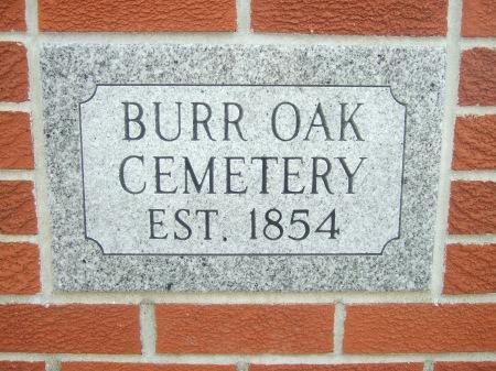 Burr Oak, IA cemetery