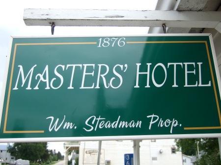 Masters Hotel, Burr Oak, IA