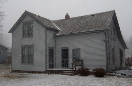 Pa's house De Smet