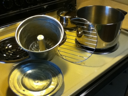 Equipment -steamed pudding