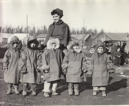 Palmer parka kids w teacher