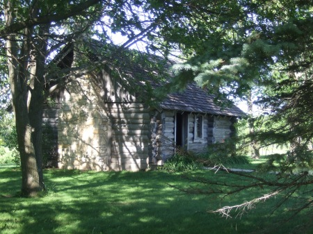 Reconstruction, Little House in the Big Woods, Pepin, WI.