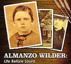 I love the photo on the cover of this DVD, Almanzo Wilder: Life Before Laura. (Available from Legacy Documentaries)