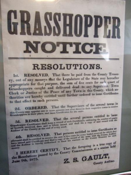 Grasshopper Notice