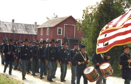 Civil War event, Old World Wisconsin