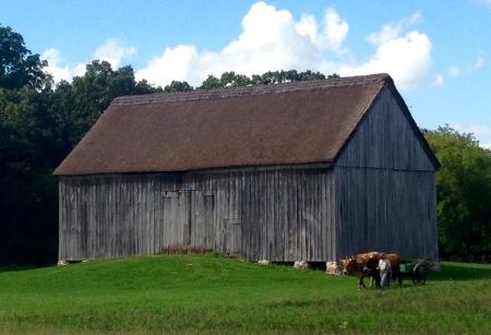 Grube Barn, Old World Wisconsin