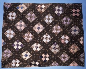 Nine patch quilt (National Museum of American History, 321804.)