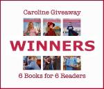Caroline6BooksGiveawayWinners600w