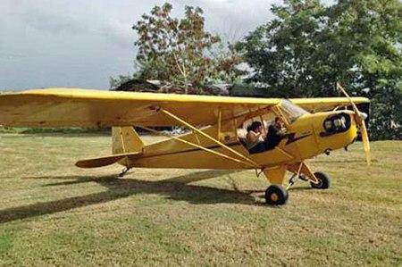 A Piper J-3 Cub. (Barnstormers.com.)