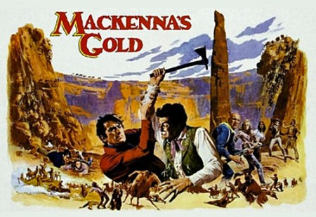 Color movie poster for MacKenna's Gold.
