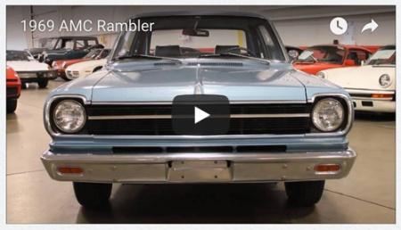 Video still of 1969 AMC Rambler 2-door sedan by GR Auto Gallery.