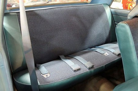 1969 AMC Ramble sedan rear bench seat photo by GR Auto Gallery.
